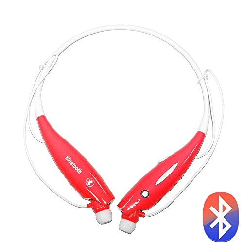 "Best_Express ""U"" Series Universal Hv-800 Wireless Music A2Dp Stereo Bluetooth Headset Universal Vibration Neckband Style Headset Earphone Headphone For Cellphones Such As Iphone, Nokia, Htc, Samsung, Lg, Moto, Pc, Ipad, Psp And So On & Enabled Bluetooth ("
