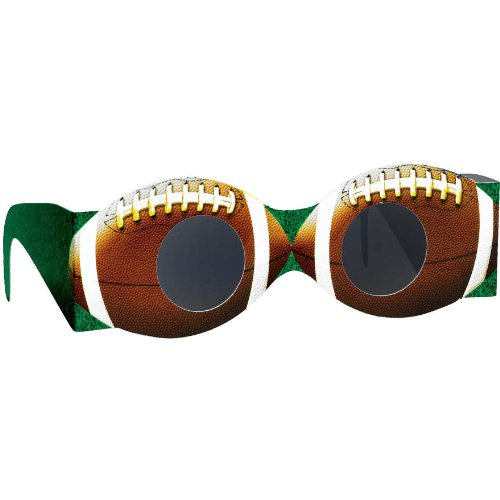 Football Paper Glasses Party Accessory