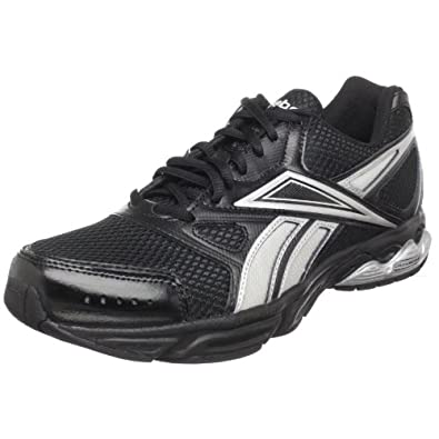 Reebok Men's Instant Running Shoe,Leather/Black/Silver,8.5 M US