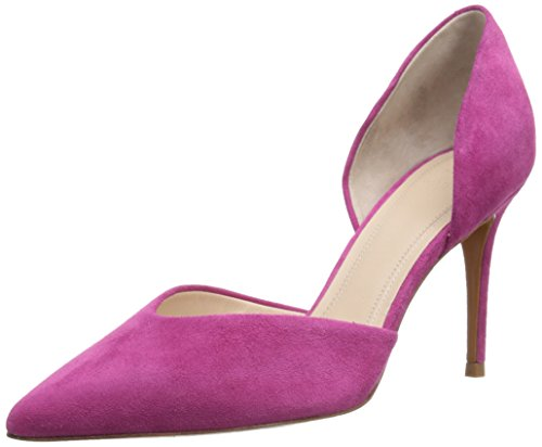 Marc Fisher LTD Women's Tammy D'orsay Pump, Pink Suede, 6.5 M US (Marc Fisher Shoes compare prices)