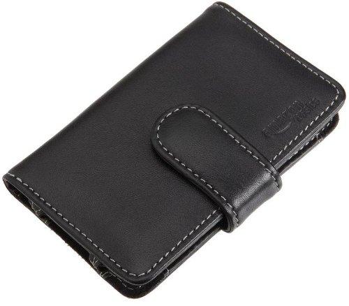 AmazonBasics Custodia in pelle con clip per cintura per Apple iPod Touch 3G e iPod Classic, colore: Nero