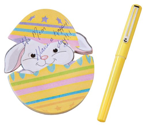 Miles Kimball Egg Shaped Notepad with Pen