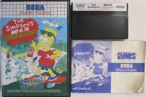 The Simpsons Bart vs the Space Mutants - Master System - PAL