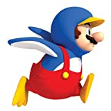 Roommates 688Slm Penguin Mario Peel & Stick Giant Wall Decal