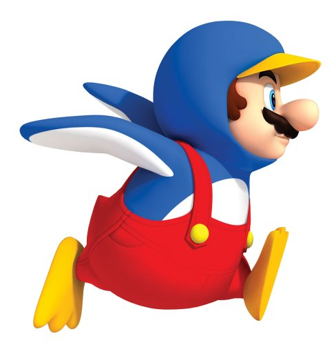 Roommates 688Slm Penguin Mario Peel & Stick Giant Wall Decal - 1