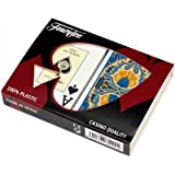 Fournier Rosas Bridge Size Jumbo Index Playing Cards