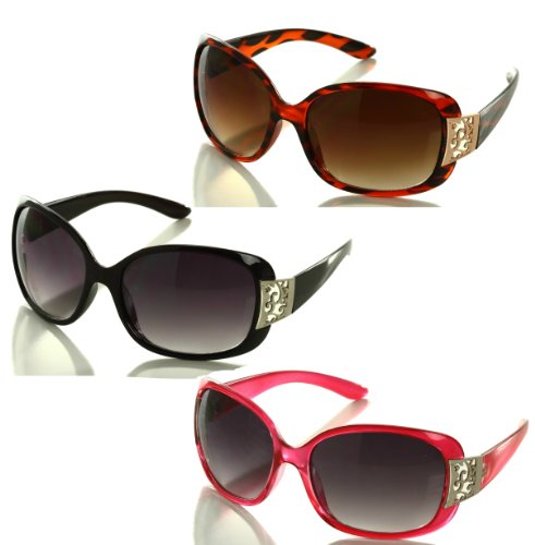 Noble Mount Womens Oversized Sunglasses