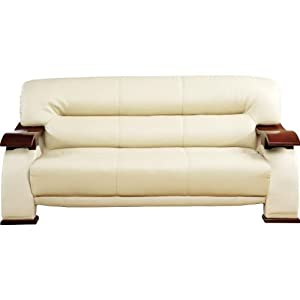 Amazon Concours Cappucino Leather Sofa