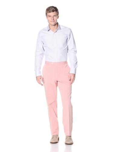 Hickey Freeman Men's Flat-Front Pant