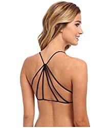 Fashion New Black Pyramid Style Bralette freesize