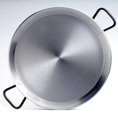 Garcima 22-inch Pata Negra Restaurant Grade Paella Pan, 55cm