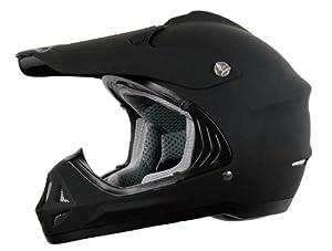 Vega Viper Off Road Helmet (Flat Black, XXX-Large)