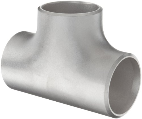 Stainless steel 304 304l butt weld pipe fitting tee for Mineral wool pipe insulation weight per foot