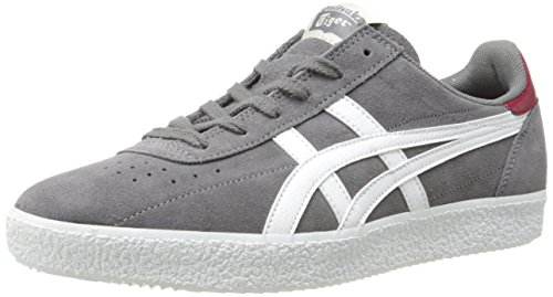 Onitsuka Tiger Vickka Moscow Fashion Sneaker,Grey/White,12 M US/13.5 Women's M US
