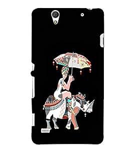EPICCASE rhinoceros case Mobile Back Case Cover For Sony Xperia C4 (Designer Case)