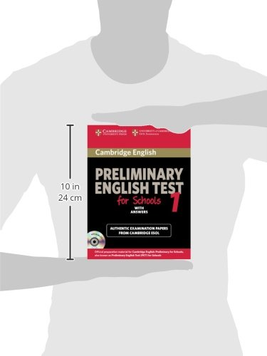 Preliminary english test for school. Student's book. Con CD Audio. Pergli Ist. tecnici e professionali: Cambridge Preliminary English Test for Schools ... with Audio CDs (2)) (PET Practice Tests)