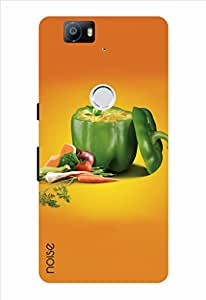 Noise Over Capsicum Printed Cover for Huawei Nexus 6P