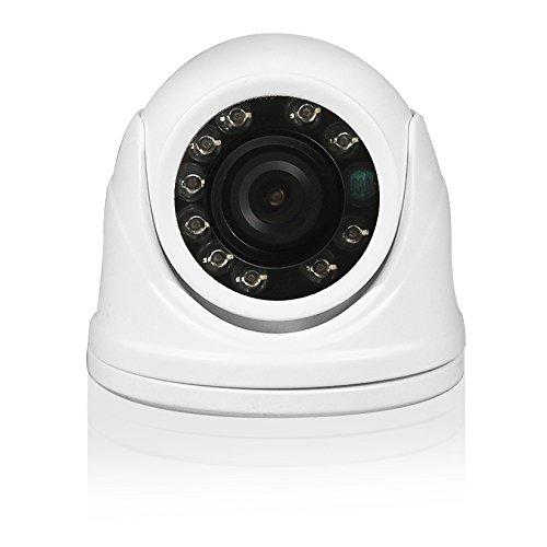 Eminent Minidome Camera Indoor/Outdoor Camera, 6 LED, Bianco