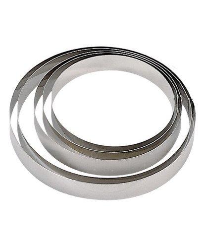 de Buyer 3989.18 Cercle Inox Hauteur 4,5 cm Diamètre 18 cm
