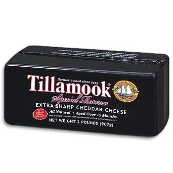 Tillamook Vintage Extra-Sharp Cheddar Cheese 2lb. (Organic Cheese Block compare prices)