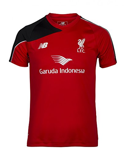 New Balance - 2015-2016 Liverpool Maglietta Da Allenamento (Rosso)