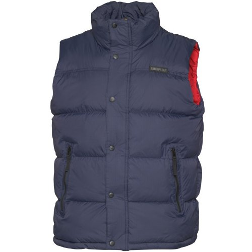 Caterpillar Mens Pinnacle Gilet Midnight Navy