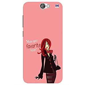 Main Apni Favrite Hoon - Mobile Back Case Cover For HTC One A9