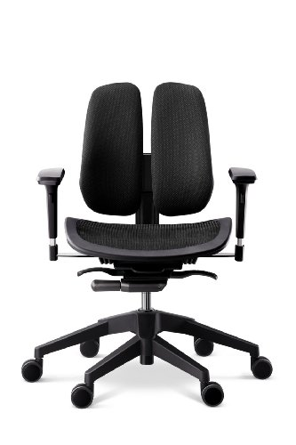 Alpha Mesh Seat Office Chair Color: Black