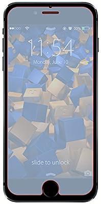 mumbi ECO Panzerfolien für iPhone 6 / iPhone 6s Hartglas Glasfolie (bewusst kleiner als das Display, da dieses gewölbt)