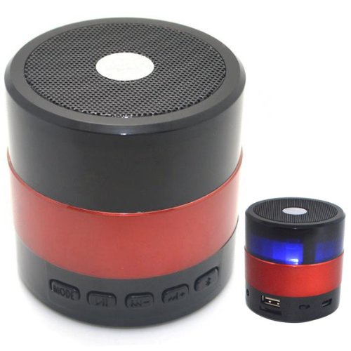 Sardine Sdy-001 Mini Super Bass Hi-Fi Bluetooth V3.0 Speaker Portable Mini Wireless Speaker Support Hands-Free Function Tf Card Built-In Fm Radio For Computer Car Apple Iphone 5S 5C 5 4S 4 Ipod Ipad Ipad Mini Samsung Galaxy S4 S3 S2 S1 Note 3 Note 2 Sony