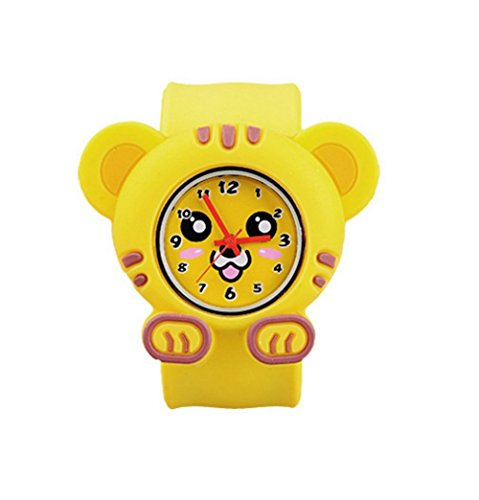 Cute Shap Kids Watch for Toddler Packed in Gift Box