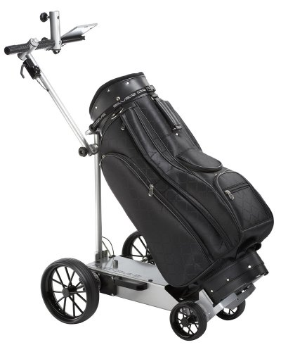 Golf Elektrotrolley, silber