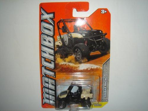 2012 Matchbox Beach Series Yamaha Rhino Cream/Black #12 of 120