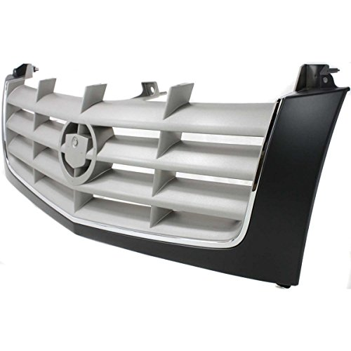 Diften 102-A2835-X01 - New Grille Assembly Grill Black shell silver insert Escalade GM1200509 15162129 (Escalade Grill compare prices)
