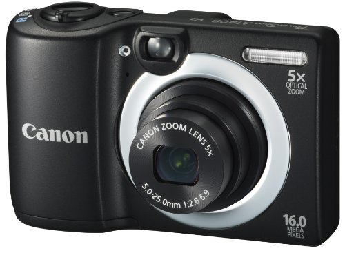 Canon PowerShot A1400 16.0 MP Digital Camera