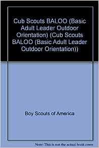 Basic adult leader outdoor orientation