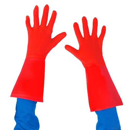 Disguise Captain America Kids Gloves