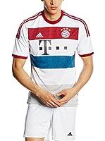 adidas Camiseta Manga Corta Trikot FC Bayern Away (Blanco / Rojo / Azul)