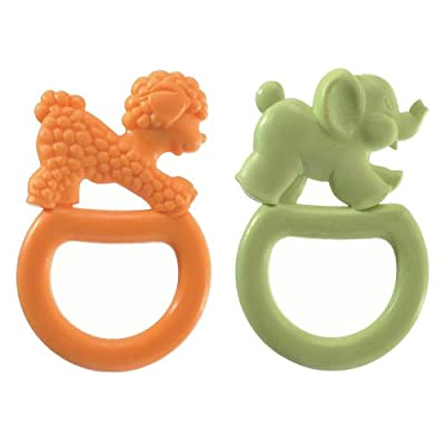 Vulli 2 Pack Vanilla Flavored Ring Teether from Vulli