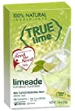 NEW FLAVOR: True Lime LIMEADE (Pack of 4) 10ct each box. True Lemon | True Citrus NON GMO and NO GLUTEN