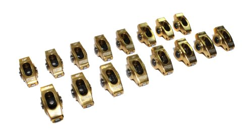 3//8 Stud Diameter Rocker Arm for Small Block Ford 3//8 Stud Diameter Rocker Arm for Small Block Ford COMP Cams Competition Cams 17043-16 High Energy Die Cast Aluminum Roller 1.6 Ratio