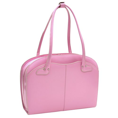 mcklein lyndon 154quot laptop bag for women pink electronics