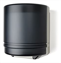 E-Z Taping System TD0255-01 Self-Adjusting Center pull Towel Dispenser in Dark Translucent