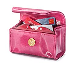 CARD CUBBY Wallet Organizer - PASSION PINK