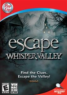 Brand New Escape Whisper Valley (Rated: E) (Works With: Win Xp,Vista,Win 7/Mac Os X,10.5 Or Later)