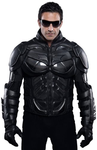UD Replicas The Dark Knight Rises: Batman Motorcycle Suit Jacket, X-Small