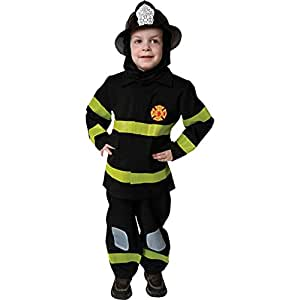 Fire Fighter Deluxe Dress-Up Toddler Costume