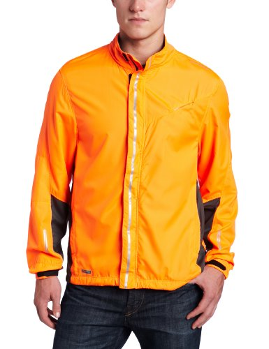 Saucony Saucony Men's Sonic HDX Vizipro Jacket (Vizipro Orange, Large)