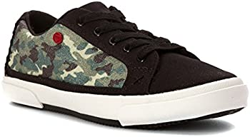 UGG Kids Lace-Up Glitter Camo Shoes