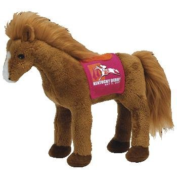 TY Beanie Baby - DERBY 134 the Kentucky Derby Horse (Red Version) - 1